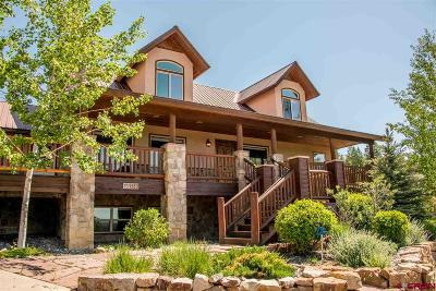 Pagosa Springs Single Family Home For Sale: 1552 Roush Dr.