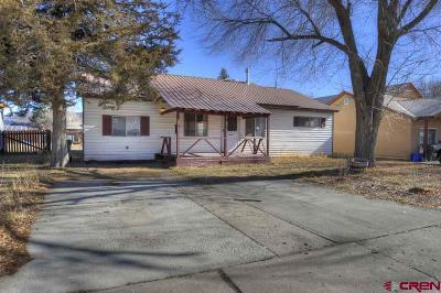 Durango CO Single Family Home For Sale: $425,000