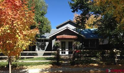 Durango CO Single Family Home For Sale: $685,000