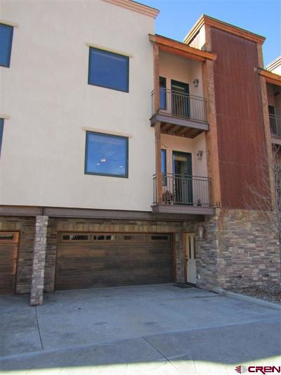 Durango CO Condo/Townhouse For Sale: $369,000
