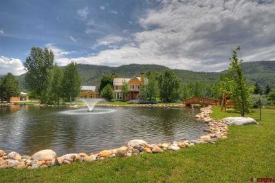 Durango CO Single Family Home For Sale: $2,995,000