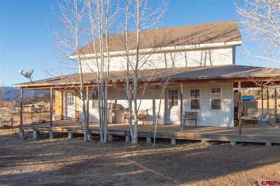 Paonia Single Family Home NEW: 42423 Lamborn Mesa Road