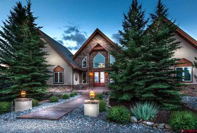Ouray County Single Family Home For Sale: 5100 Ponderosa Drive