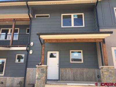 Durango Condo/Townhouse For Sale: 319 Confluence Avenue