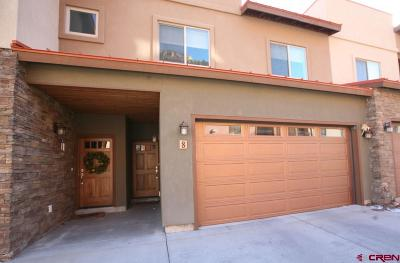 Durango Condo/Townhouse For Sale: 1422 Animas View Drive #8