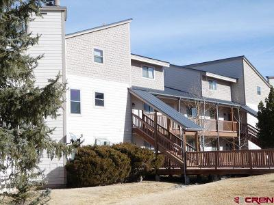 Pagosa Springs Condo/Townhouse For Sale: 89 Valley View Drive #3176