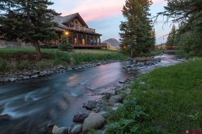 Crested Butte CO Single Family Home For Sale: $3,675,000