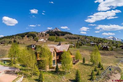 Mt. Crested Butte Single Family Home UC/Contingent/Call LB: 3 Lapis Lane