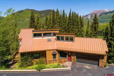 Mt. Crested Butte Single Family Home For Sale: 10 Aspen Lane