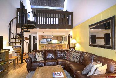 Mt. Crested Butte Condo/Townhouse For Sale: 72 Hunter Hill Road #I304