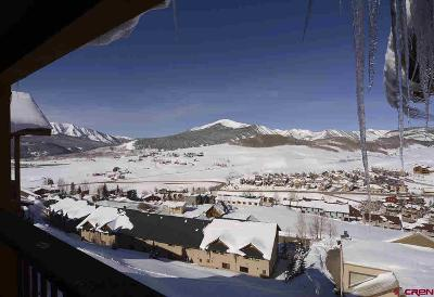 Mt. Crested Butte Condo/Townhouse For Sale: 70 Hunter Hill Road #P104