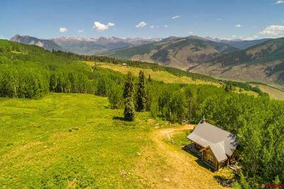 Gunnison County Single Family Home For Sale: 515 Oversteeg Gulch Road