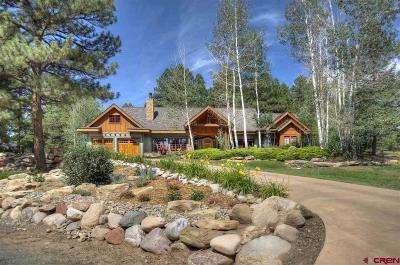 Durango Single Family Home Back on Market: 758 Golden Dipper