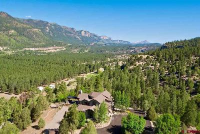 Durango Single Family Home For Sale: 957 Elkhorn Mountain Road