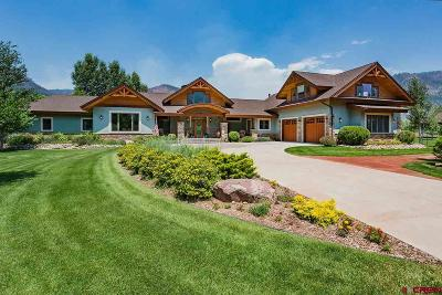 La Plata County Single Family Home For Sale: 840 Red Rock Road
