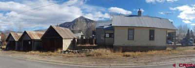 Crested Butte CO Single Family Home For Sale: $895,000