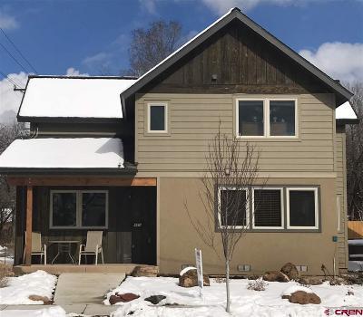 Durango CO Single Family Home For Sale: $654,900