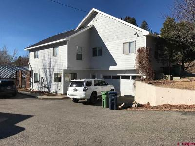 Durango Single Family Home For Sale: 170 W 33rd Street
