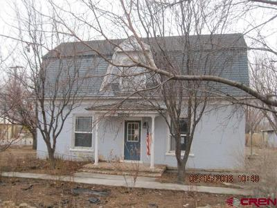 Delta CO Single Family Home For Sale: $85,000