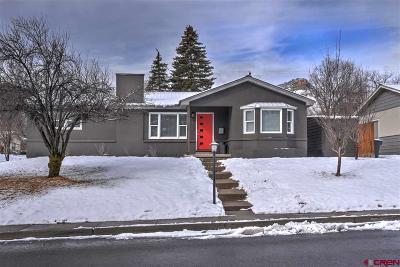 Durango CO Single Family Home For Sale: $625,000