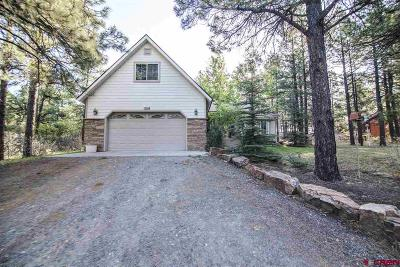 Pagosa Springs Single Family Home For Sale: 295 W Golf Place