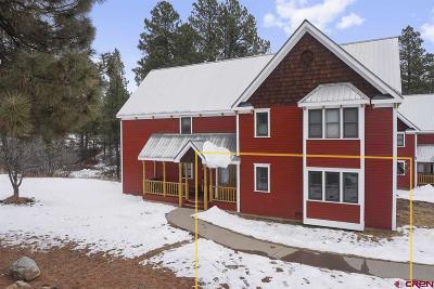 Durango CO Condo/Townhouse NEW: $178,000