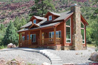 Ouray County Single Family Home For Sale: 45 White House Vista Place