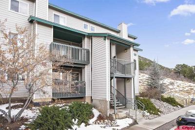 Durango Condo/Townhouse For Sale: 1100 Goeglein Gulch Road #147