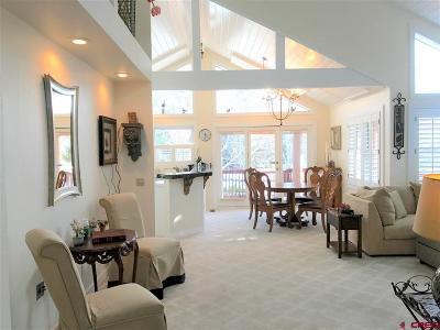 Durango Condo/Townhouse For Sale: 591 Cottonwood Creek Road