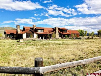 Gunnison Single Family Home For Sale: 111 Eagle Trail Drive