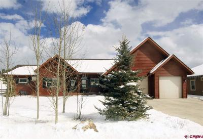 Pagosa Springs Single Family Home UC/Contingent/Call LB: 109 Blue Heron Court