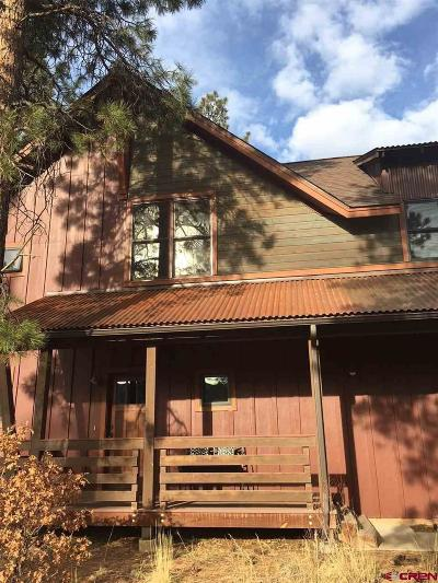 Durango Single Family Home For Sale: 181 Copper Rim Trail