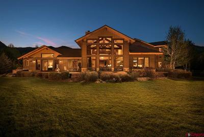 Durango Single Family Home For Sale: 655 Red Rock Road