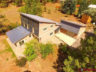 Durango Single Family Home For Sale: 768 Sortais Road
