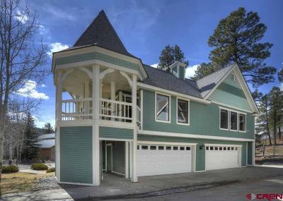 Durango Condo/Townhouse For Sale: 126 Hidden Treaure #2