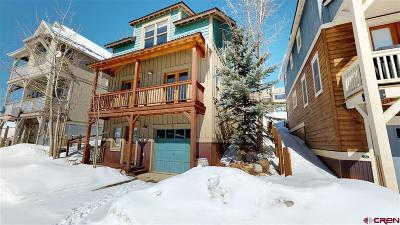 Mt. Crested Butte Single Family Home For Sale: 118 Big Sky Drive