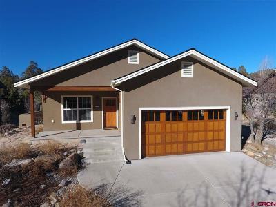 Durango Single Family Home For Sale: 129 River Oaks Drive