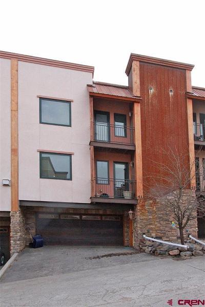 Durango Condo/Townhouse For Sale: 1422 Animas View Drive #41