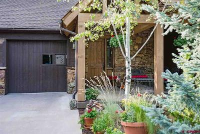 Durango Single Family Home For Sale: 590 Glacier Club Drive #3