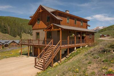 Crested Butte CO Single Family Home For Sale: $800,000