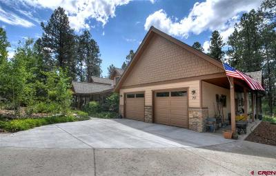 Durango Single Family Home For Sale: 75 Mill Creek Court