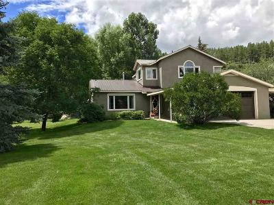 Durango Single Family Home For Sale: 145 Estate Road