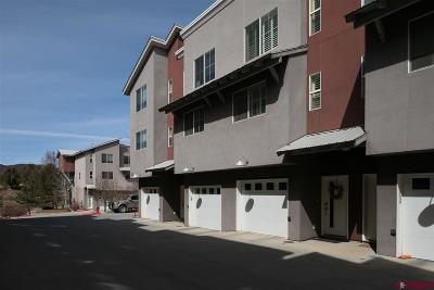 Durango Condo/Townhouse For Sale: 1140 Carbon Junction #33