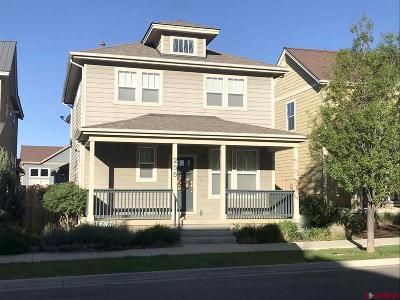 Durango Single Family Home For Sale: 255 Clear Spring Avenue