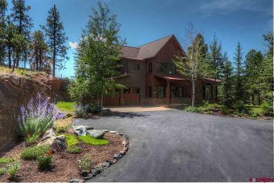 La Plata County Single Family Home For Sale: 1858 Glacier Club Drive #2