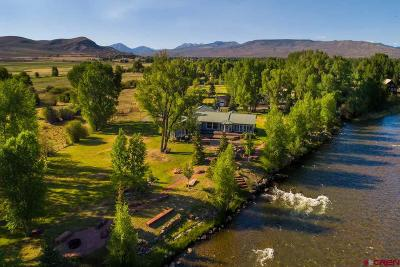 Gunnison Single Family Home For Sale: 672 Apache Road