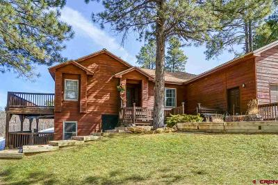 Bayfield Single Family Home UC/Contingent/Call LB: 820 Alpine Forest Drive