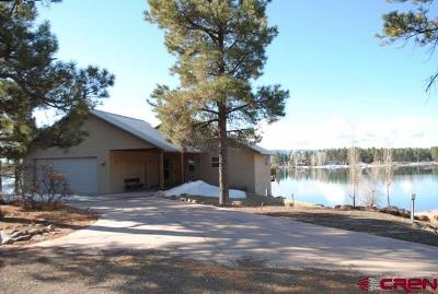 Pagosa Springs Single Family Home For Sale: 80 Monument