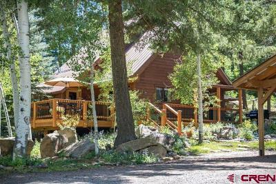Pagosa Springs Single Family Home For Sale: 344 Morning Rain Court & 4920e County Road 335