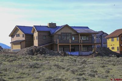 Crested Butte CO Single Family Home For Sale: $1,395,000